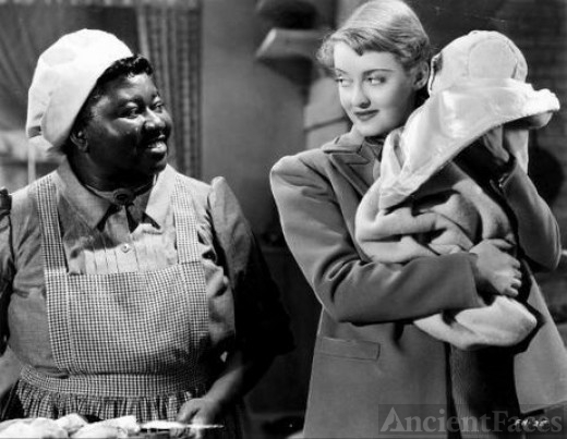 Hattie McDaniel and Bette Davis