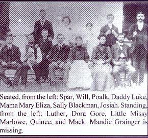 Luke Watts Family of Horry Co, SC