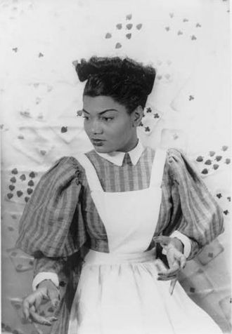 Actress and Singer Pearl Bailey 1946