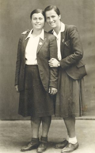 Ljuba Puskar & Ljuba Ulemek, Croatia 1945