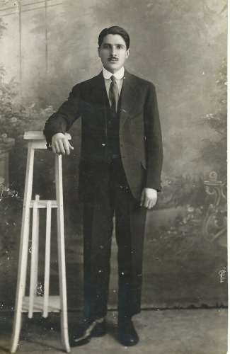 Evris J. Anest, 1920