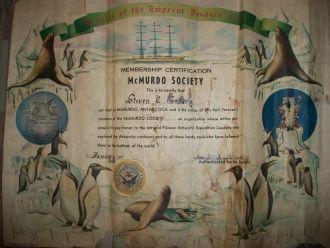 Steven Guadry's McMurdo Society