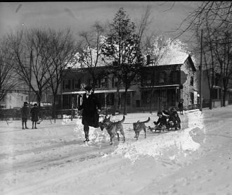 R.L. Scaggs & police dogs, 1/11/26