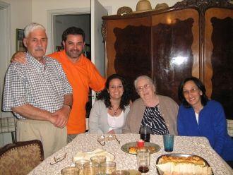 Efrain, Santiago, & Viviana Lezica 2010