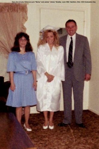 Becky Bradley's Graduation, 1992