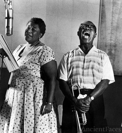 Ella Fitzgerald and Satchmo