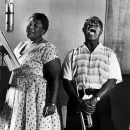 Ella Fitzgerald and Satchmo