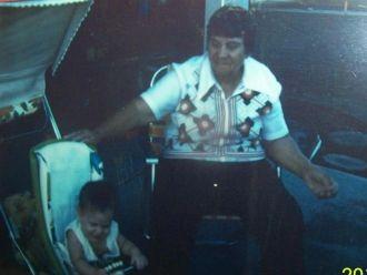 Loretta and great grandma Fullwood, California
