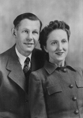 Grandma and Grandpa Buelow