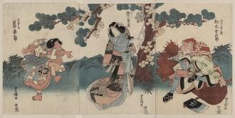 Matsumoto kōshirō, segawa kikunojō, iwai kumesaburō