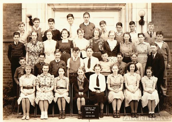 Fairfield School OH  1938