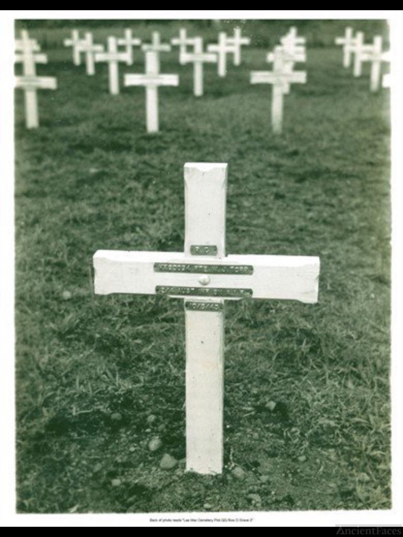 Wilfred Joseph Topp gravesite