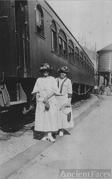 M. Mason with friend, Mary Ann Tasker