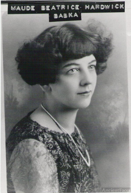 Maude Beatrice Hardwick