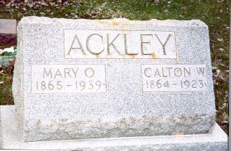 Ackley Headstone