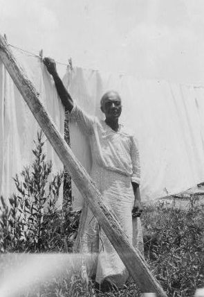 Orelia Alexia Franks, ex-slave, Beaumont