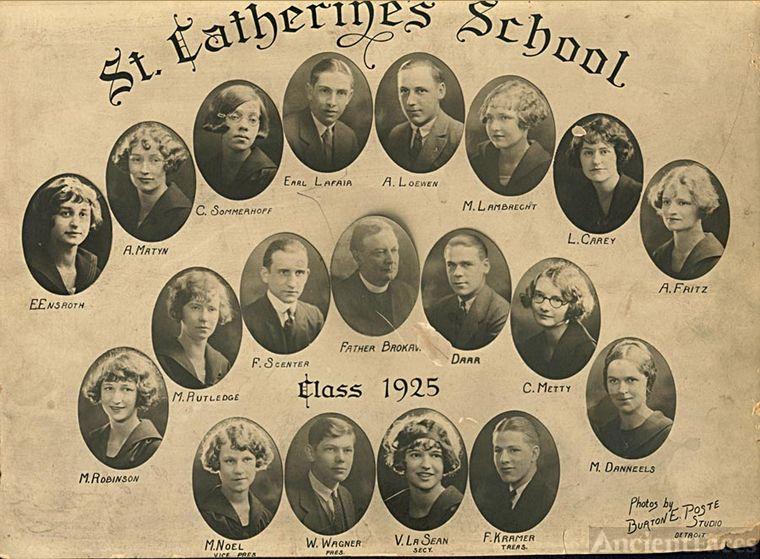 St. Catherine's School - Class of 1925