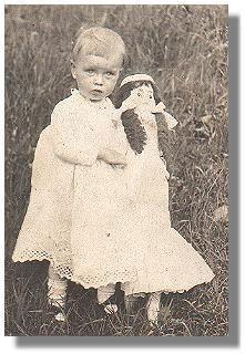 Grandma and her doll