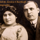 Louis Newman and his first wife, Yetta Schwartz, from the Chortkoff Archives