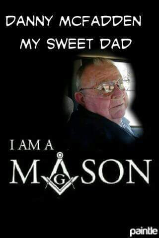 Danny McFadden my dad a great man.