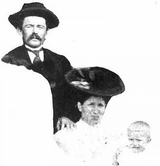 Joseph, Katherine (Bifot), & Peter Broll, 1896