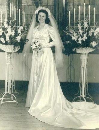 Ruth Sloan Happy Bride