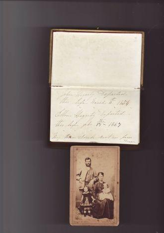 John Hegarty family