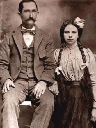 John Franklin Lindsey and Phoebe Caughey Lindsey