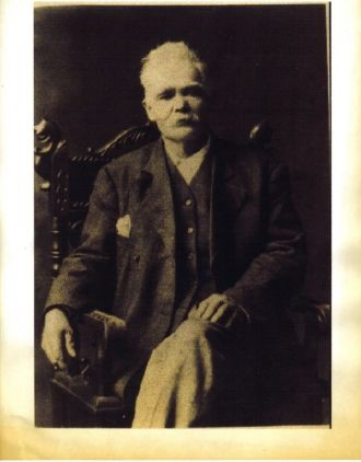greatgrandfather george l. christen