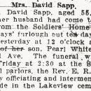 Carrie Sapp obituary