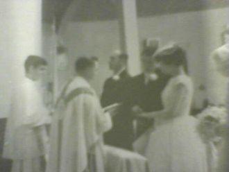 Gail Carty and Daniel Izzo, 1961