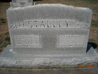 Nellie M (Lewis) Stalley Gravesite