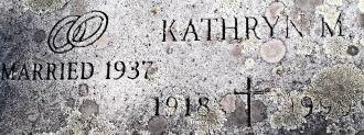 Kathryn M Beck gravesite