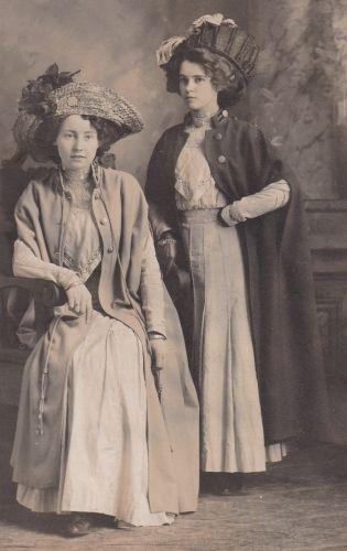 Gertrude McKray and Verda Scott