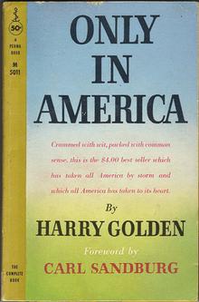 Harry Golden book