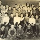 Roscoe School 1953-54 class