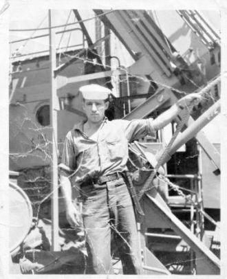 Arthur Raymond Miller WW II Coast Guard