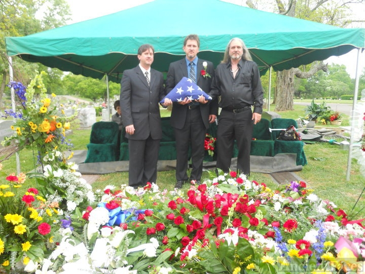 Wiley Sexton's funeral