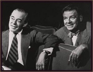 Oscar Hammerstein II and Richard Rodgers
