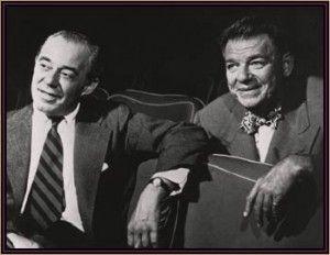 Oscar Hammerstein II and Richard Rodgers