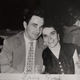 Ernie and Pearl Stawnychka 1957.
