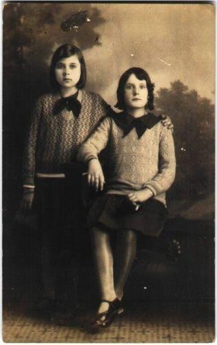 Ruth & Fanny Starr, 1930 TX
