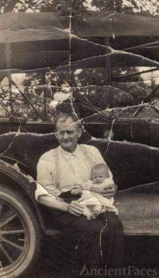 Michael Jungers & his Granddaughter.