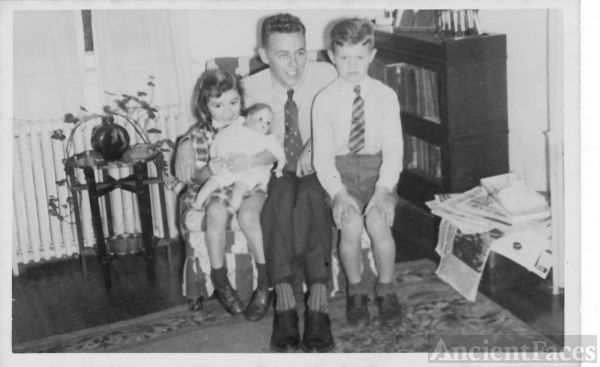 Janet, William, & Bill Armstrong, MD 1944