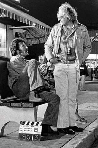 Ulu Grosbard and Dustin Hoffman