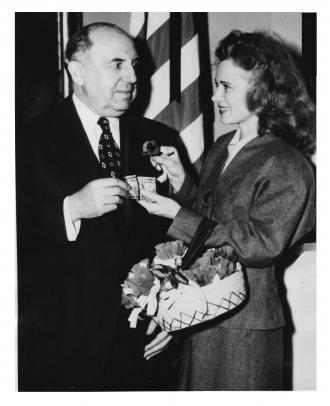 Albert Goldman and Jan Clayton