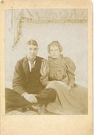 Mr. and Mrs. Chas. Howard,formerly Gertrude Folsom