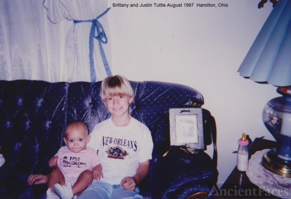 Brittany and Justin Tuttle, 1997