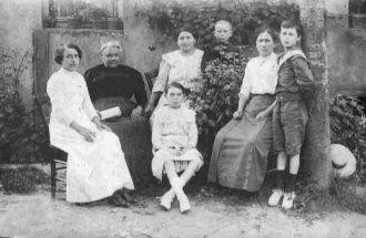 Famille Brice vers 1910