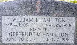 Gertrude M Hamilton
